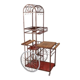 Bar Cart Attributed to Bill Sanders For Sale