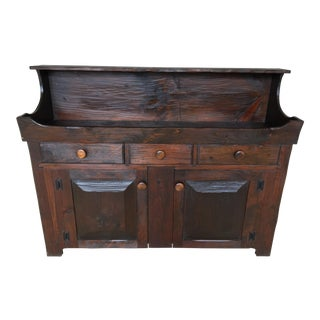 Hunt Country Furniture Rough Cut Dry Sink-Sideboard