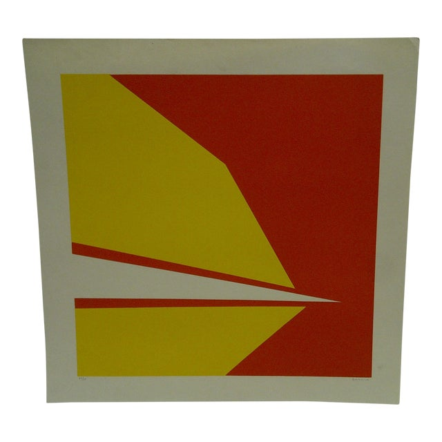 """Limited Numbered (23/25) Signed Print """"Point"""" by Garrick For Sale"""