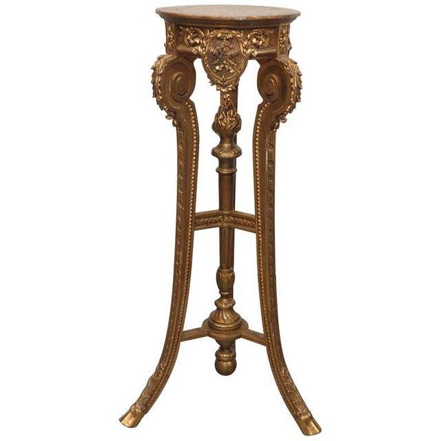 Hollywood Regency Style Pedestal For Sale - Image 9 of 9