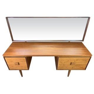 1960s Mid Century Modern Kofod Larsen for G Plan Teak Vanity Preview