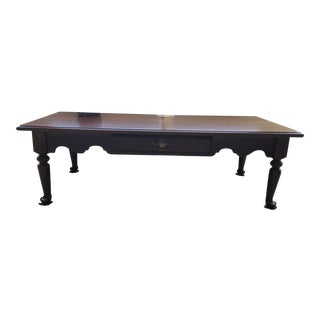 Baumritter (Pre-Ethan Allen) Cherry Coffee Table With Drawer For Sale