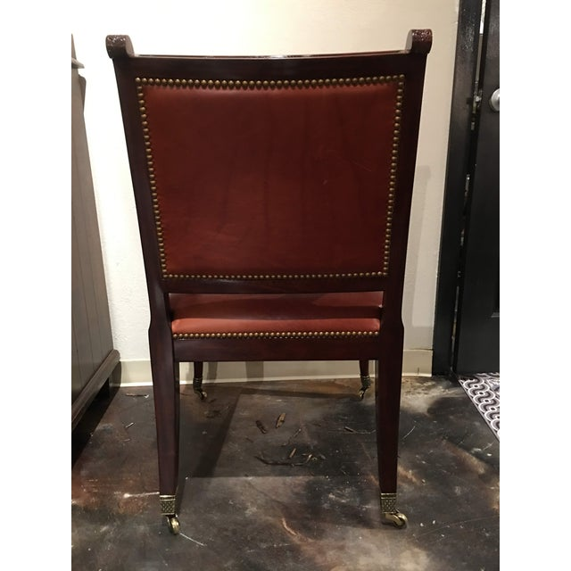 Theodore Alexander Theodore Alexander Regency Style Game Chair For Sale - Image 4 of 13