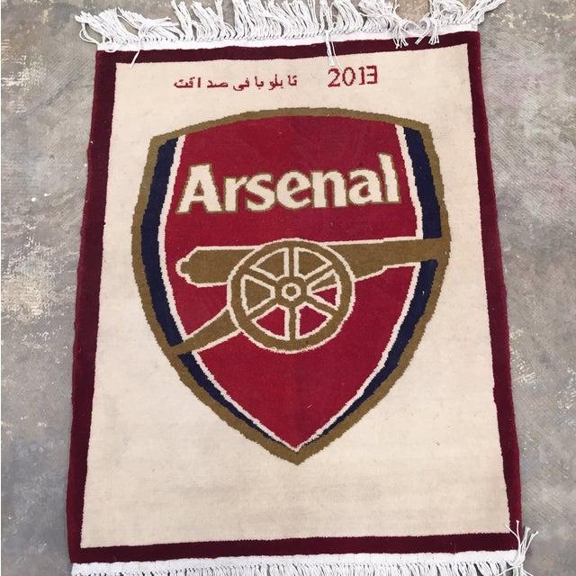 "Arsenal Hand Made Persian Rug - 1'11"" x 1'8"" - Image 3 of 9"