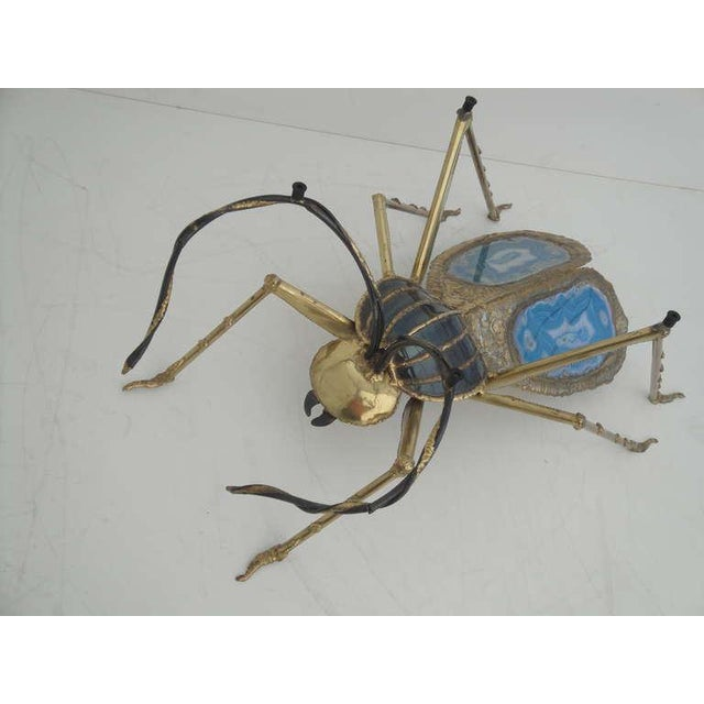 Henri Fernandez Beetle Sculpture or Coffee Table for Atelier Duval-Brasseur For Sale In Los Angeles - Image 6 of 10