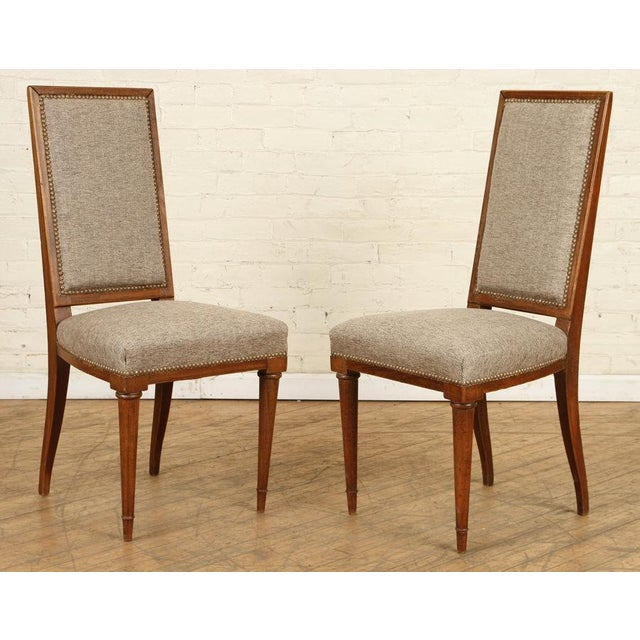 Mid 20th Century Jean Michel Frank Dining Chairs - a Pair For Sale In New York - Image 6 of 6