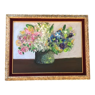Original Contemporary Artist Amy Nero Floral Still Life For Sale