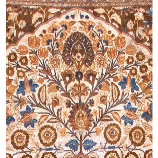 Islamic Tabriz Rug For Sale - Image 3 of 4