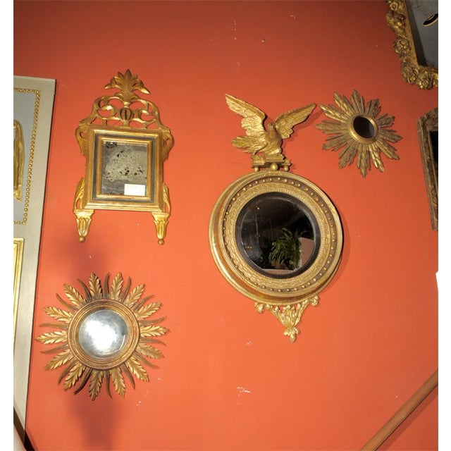 Early 19th Century Regency Convex Mirror For Sale - Image 4 of 6