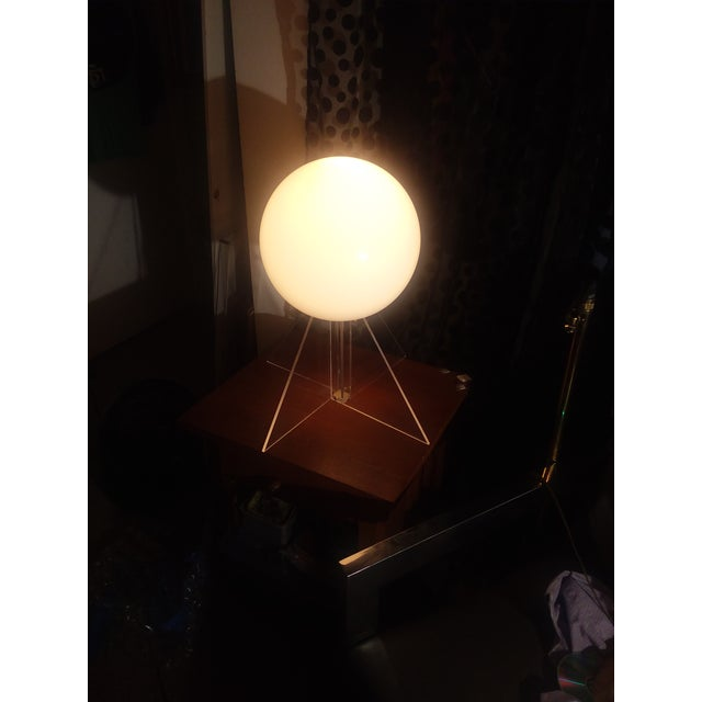Mid Century Plexi Globe Table/Floor Lamp For Sale In San Diego - Image 6 of 10