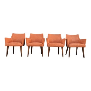 Set of 4 Mid Century Modern Dining Chairs For Sale