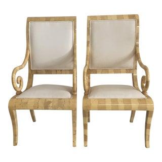 Enrique Garcel Goatskin Chairs - A Pair