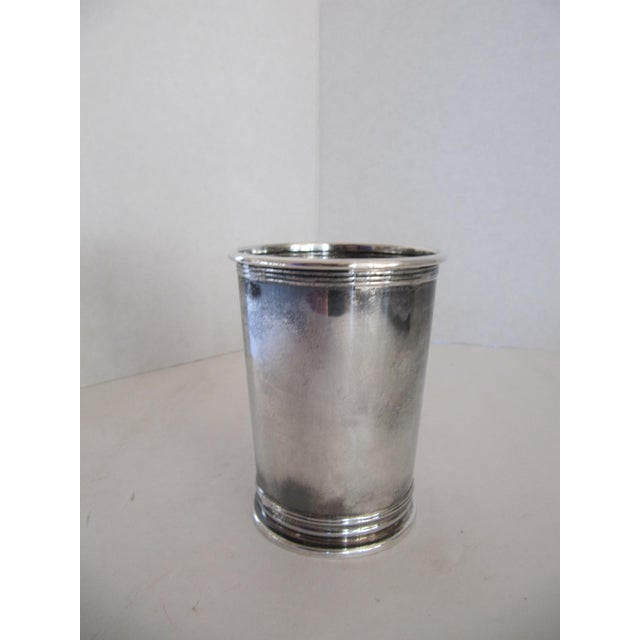 Transitional Vintage Honorable Order of Kentucky Colonels Mint Julep Cup For Sale - Image 3 of 5