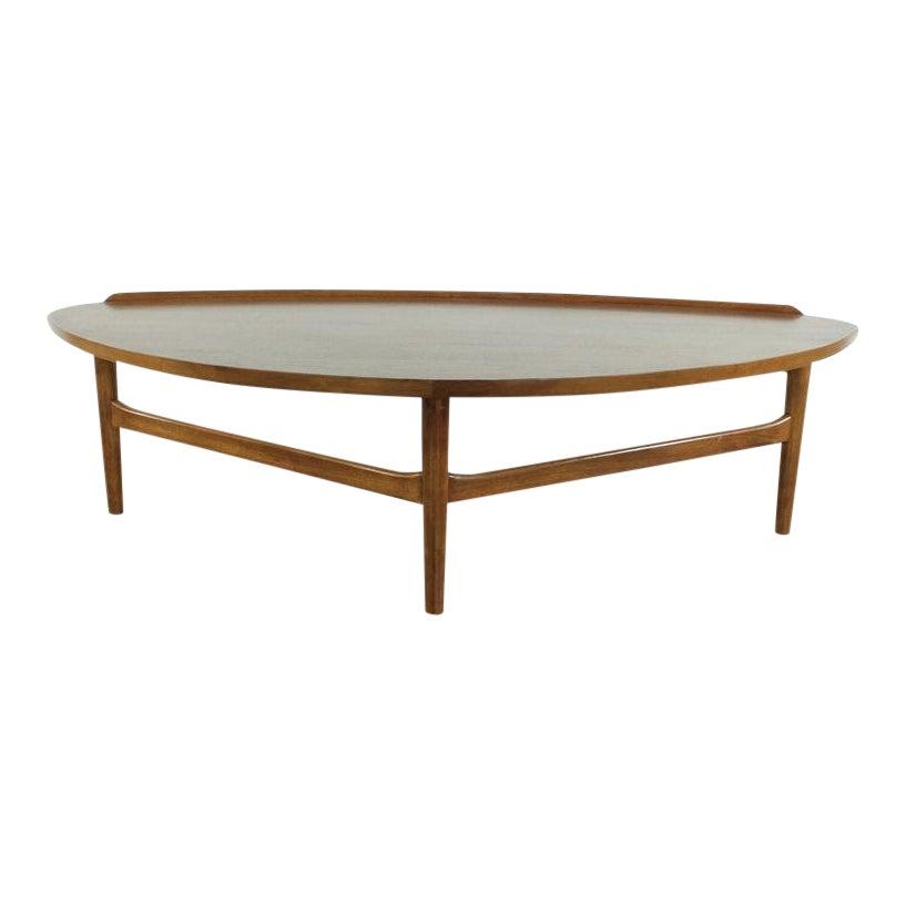 Mid Century Modern Finn Juhl Teak Coffee Table Chairish