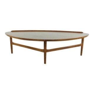 Mid-Century Modern Finn Juhl Teak Coffee Table For Sale