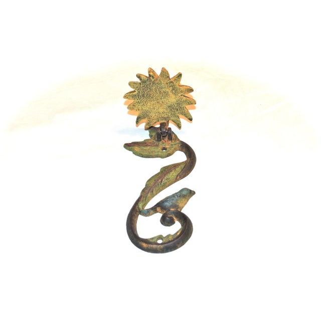 Sunflower & Bluebird Door Knocker - Image 3 of 9