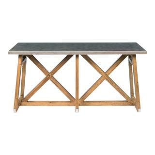 Sarreid Ltd. Sleigh Pine Console Table