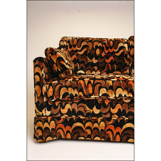 Mid-Centuryack Lenor Larsen Upholstered Loveseat - Image 8 of 11