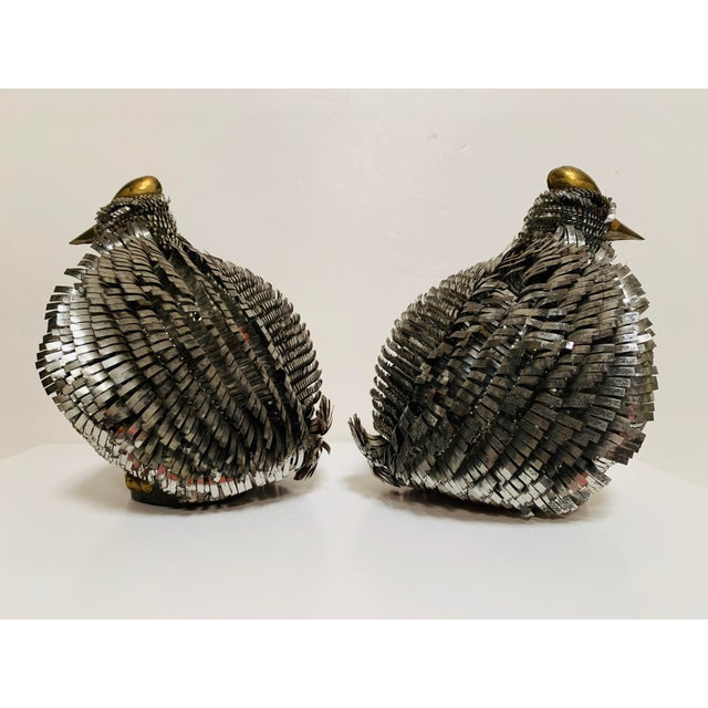 Brutalist Late 20th Century Sergio Bustamante Brutalist Bird Sculptures - a Pair For Sale - Image 3 of 11