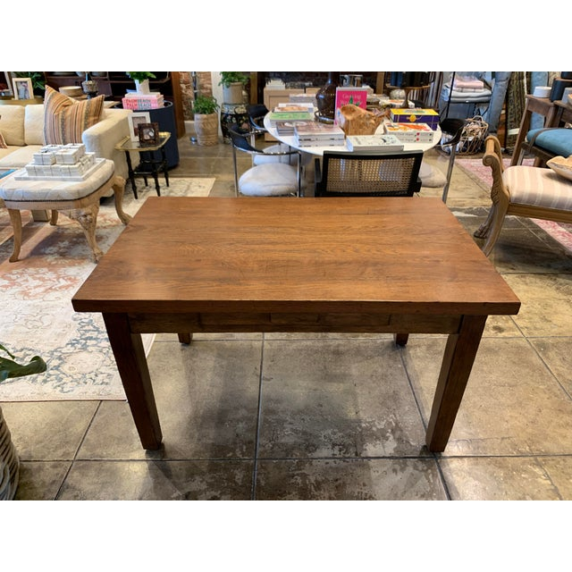 Antique Primitive Dining Table For Sale - Image 4 of 10