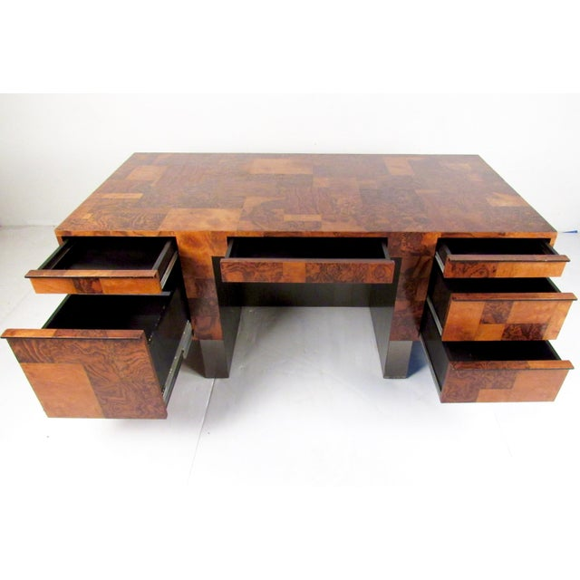 """This stunning """"Cityscape"""" executive desk by Paul Evans is an impressive midcentury addition to home or office decor...."""