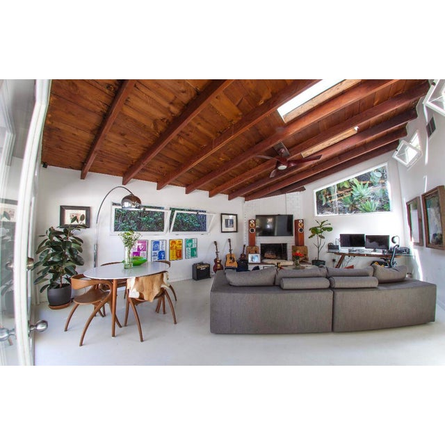 Mid-Century Style Sectional Couch For Sale In Los Angeles - Image 6 of 8