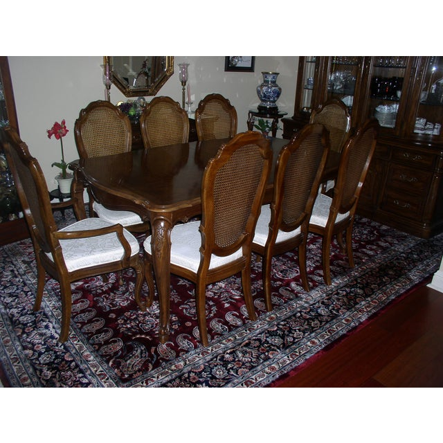 Thomasville Dining Set with 8 Chairs - Image 2 of 10