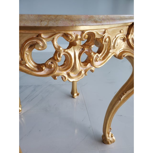 Baroque Louis XV/ Baroque Coffee Table For Sale - Image 3 of 5