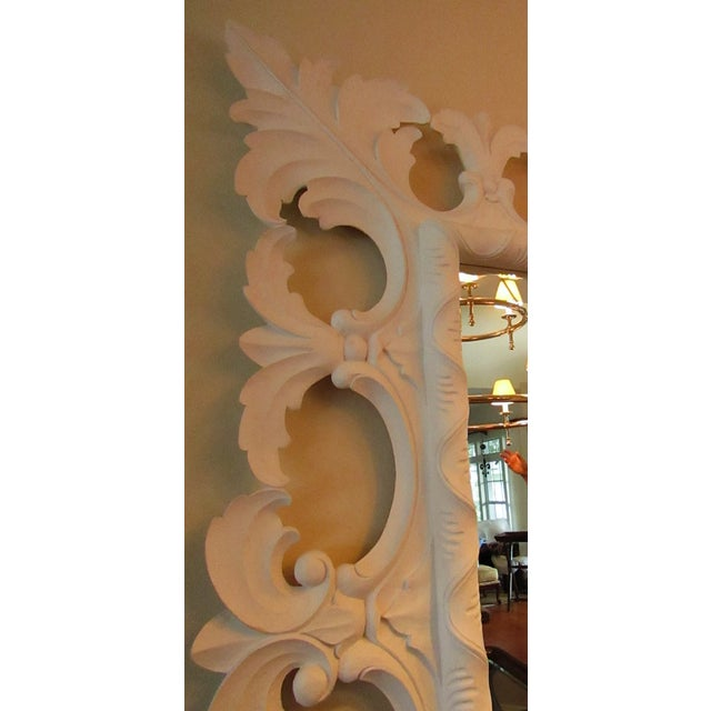At 84 x 64 inches, this spectacular Christopher Guy Carved Wood Mirror is a statement ! The carving is detailed and...