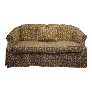 Cowtan & Tout Safari Upholstered Sofa w Pillow