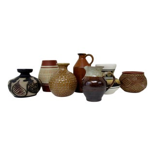Collection of Ceramic Vases - Set of 7