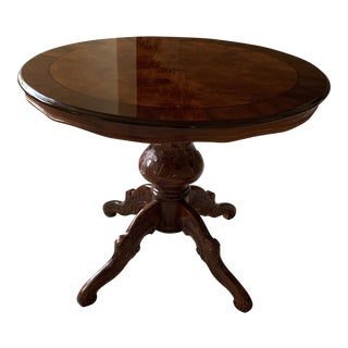 Traditional Round Dining Table For Sale