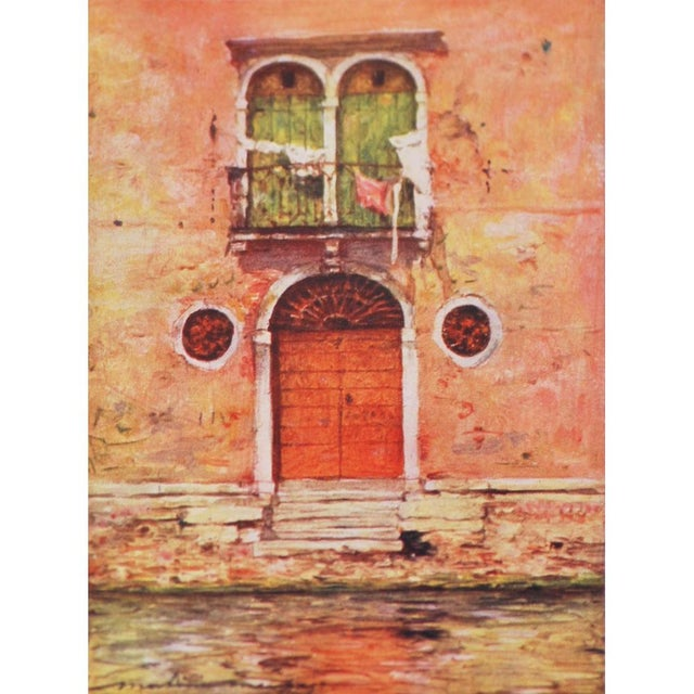 'Windows & Doors of Venice' Lithographs - Set of 4 - Image 5 of 8