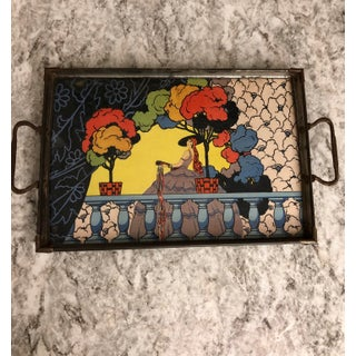 1930s Litho Printed Art Deco Tray Preview