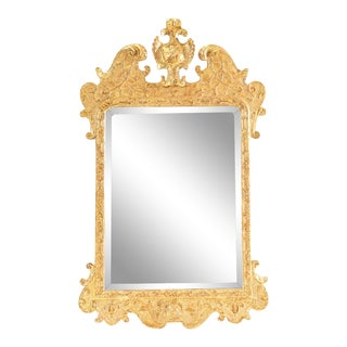18th C. English Giltwood Mirror For Sale