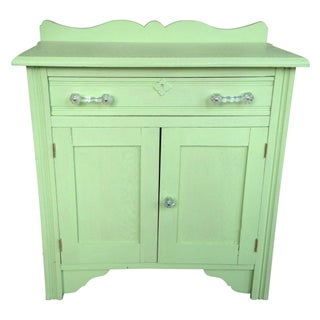 Hand Painted Antique Dry Sink