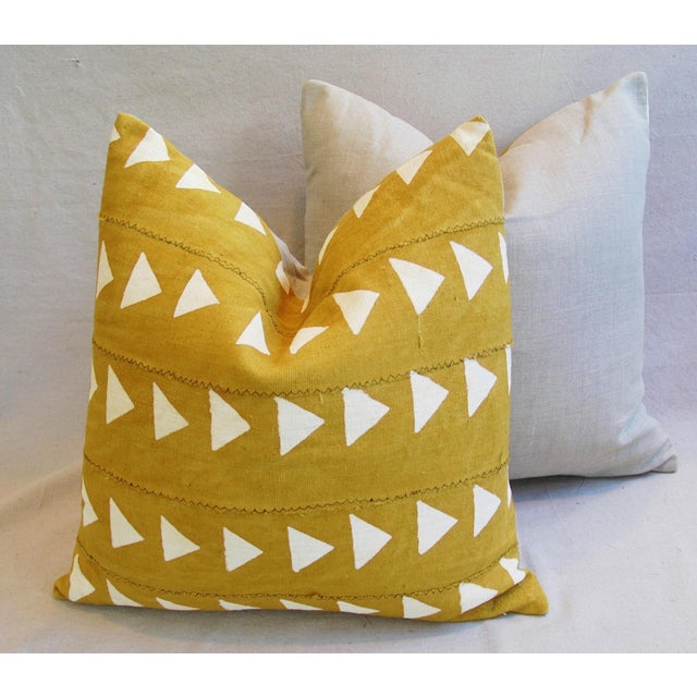 Boho Chic African Textile Pillows - A Pair - Image 10 of 10