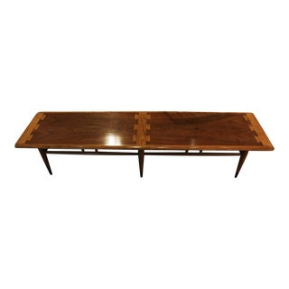 1960s Mid-Century Modern Lane Coffee Table For Sale
