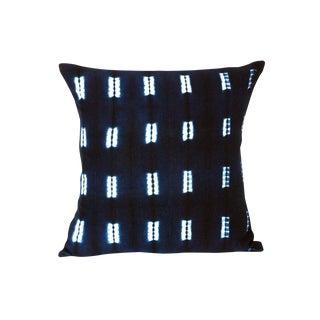 Indigo Blue Mud Cloth Pillow Covers - a Pair