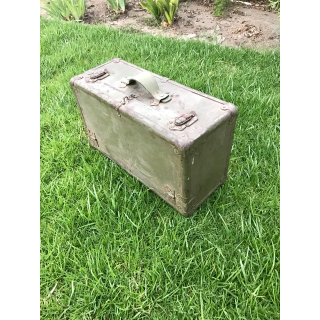 Antique Wooden Tool Box - Image 4 of 4