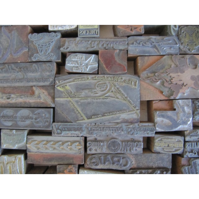 Vintage Letterpress Blocks - 116 Pieces - Image 5 of 6