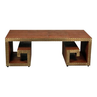 Sarreid Ltd. Greek Key Coffee Table
