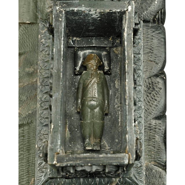 Nephrite Napoleonic Tomb Sculpture For Sale In New Orleans - Image 6 of 8