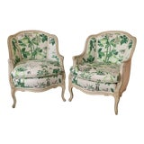 Image of Century Furniture Vintage Accent Chairs - a Pair For Sale