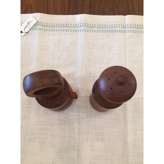 Contemporary Dansk Salt & Pepper Shakers - A Pair For Sale - Image 3 of 4