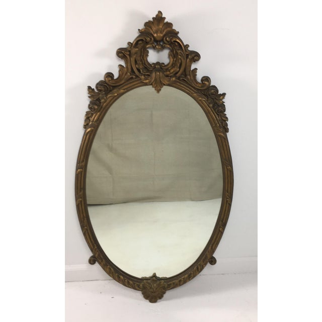 Early 20th Century Rococo Mirror For Sale In Philadelphia - Image 6 of 9