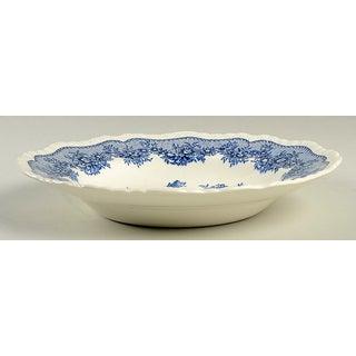 Mason's Ascot Blue Large Rim Bowl - Set of 6 Preview
