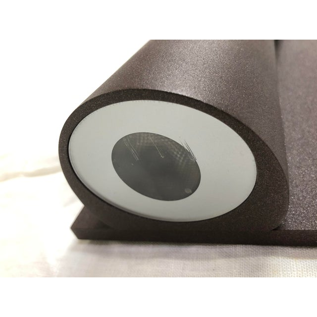 2010s Deep Brown Clessidra Outdoor Wall Sconce by Flos For Sale - Image 5 of 7