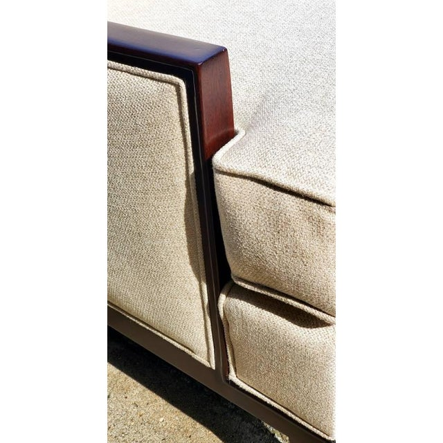 Henredon Henredon Furniture Barbara Barry Accent/Lounge Chair W/ Kidney Pillow For Sale - Image 4 of 10