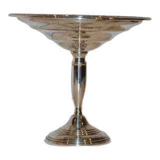 Sterling Silver Compote For Sale